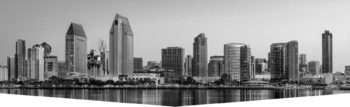 Skyline view of the city of San Diego